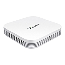 Tanix TX8 MAX Android 6.0 Marshmallow Amlogic S912 TV BOX 3G/32G 802.11ac WIFI Bluetooth KODI 1000M LAN US Plug - White
