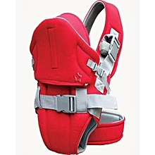 Superior Baby Carrier With a Hood-Red