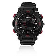Sanda Sport Luminous LED Digital Electronic Waterproof Quartz Wristwatch