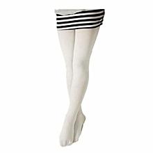 769c46593 White Girls Elegant Stockings Tights Leggings Pantyhose Ballet Dance Socks  Children Plain School Soft Tights