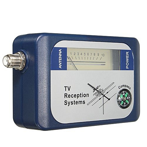 DVB-T Finder Digital Aerial Terrestrial TV Antenna Signal Strength Meter  Compass