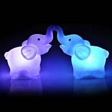 Elephant Shape Color Changing LED Night Light Lamp Wedding Party Decor