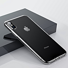 Baseus Simple Series(Dust-proof) Transparent TPU Case for iPhone X / XS