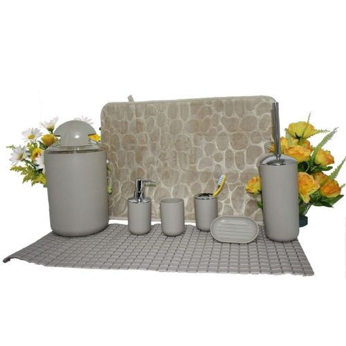 Lovely 8Pc Bathroom Accessories