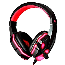 3.5mm Cool Surround Stereo Gaming Headset Headband Headphone with Mic for PC