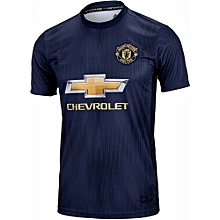 The New Manchester United 2018/2019 Third Kit Football Jersey Shirt Blue