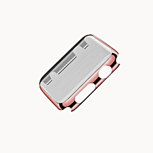 Ultra-Slim Electroplate PC Hard Case Cover For Apple Watch Series 1 42mm RG-Rose Gold
