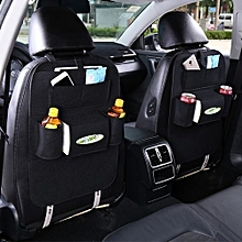 Beautiful Multi-functional Felt fabric Car Backseat Storage - Black