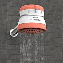 Enerducha(3 Temperature) Instant Shower Heater - Salmon