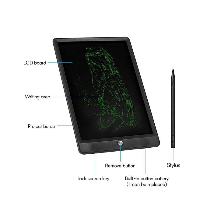 Generic Lcd Electronic Writing Painting Drawing Tablet Board Pad