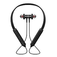 Compact Neck-mounted Wireless Bluetooth Dual Stereo In-Ear Sporting Headset-Array