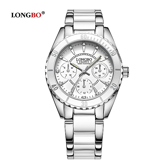 Brand Fashion Watch Women Luxury Imitation Ceramic and Alloy Bracelet Waterproof Quartz Watch Ladies Elegant Watches