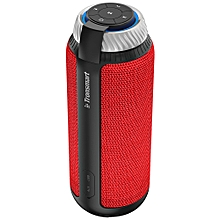 Portable Bluetooth Speaker Element T6 25W with Enhanced Bass and Built-in Microphone-Red