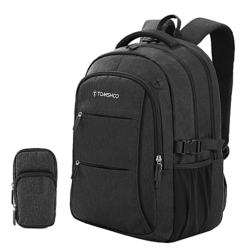 1ce8cc15a6d9 TOMSHOO Travel Backpack, Business Anti Theft Shockproof Laptop Backpack  with Cell Phone Pocket for Men Women, Breathable College School Computer ...