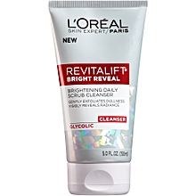 Revitalift Bright Reveal Brightening Daily Scrub Cleanser - 150ml