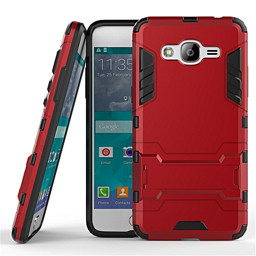 online store d0176 98fee For Samsung Galaxy J2 Prime Case Luxury Hybrid Silicone Iron Man Armor Case  Cover For Galaxy J2 Prime Full Protect Phone Housing Shock Protection Back  ...