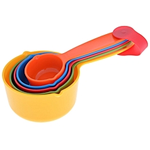 Colorful 5 Set Measuring Spoons .