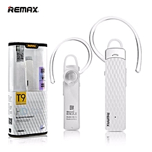 Remax RB-T9 HD Voice Bluetooth Headset Earphone Handsfree ( White )
