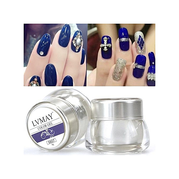 Buy Vakind 3D Nail Art Paint Draw Painting Acrylic Color UV Gel Tip ...