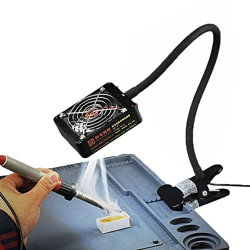 Soldering Iron Exhaust Fan BGA Soldering Station Repair Tools Solder Smoke  Exhauster R M1 Black