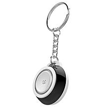 Bluetooth Smartphone Anti-Lost Device Bidirectional Positioning Keychain black