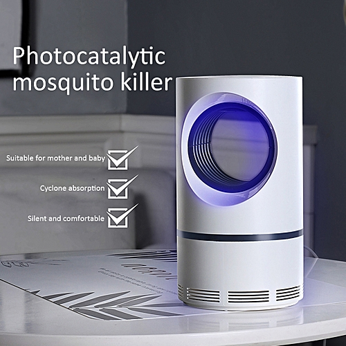 Ultraviolet Light Mosquito Killer Lamp LED Light Electric Insect Killer  Non-Toxic UV Insect Trap Mosquito Killer