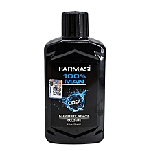 100% Man Cool Comfort Shave Cologne  -  175ml