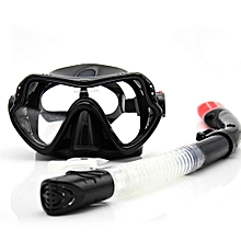Professional Snorkeling Diving Mask Snorkel Scuba Anti-Fog Goggles Children
