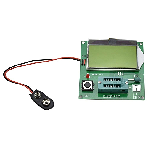 GM328A Transistor Tester Frequency/PWM /Square Wave/LCR Meter/Voltmeter