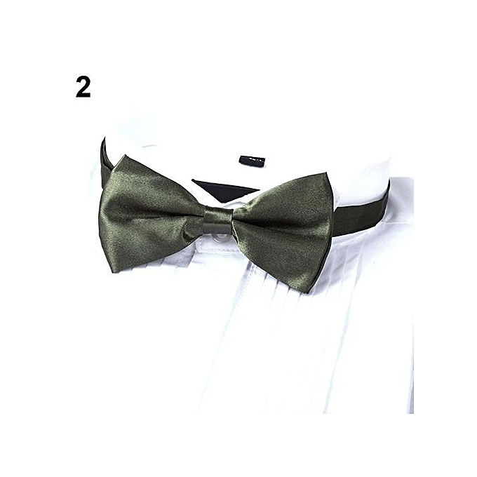 Buy sanwood new arrival mens fashion plain bowtie polyester pre new arrival mens fashion plain bowtie polyester pre tied wedding bow tie suits tie army ccuart Images