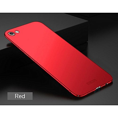 best sneakers 6c8f1 30d32 For Vivo Y81 Luxury Hard PC Case For Vivo Y81 Phone Back Cover (Red)