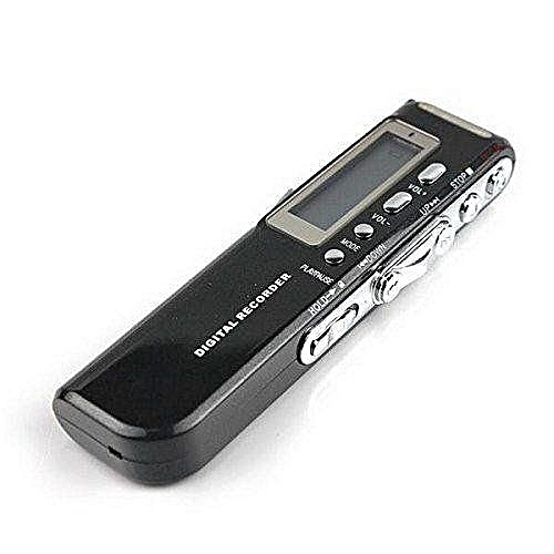 UNIVERSAL 8GB Digital Voice Recorder Dictaphone With High Quality MP3 Player