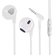 S10 Heavy Bass For Android Mobile Phone Ear Earphone Boys Girls white