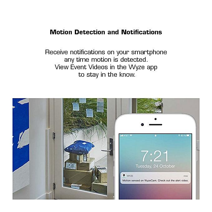 Wyze Cam V2 1080p HD Indoor Wireless Smart Home Camera