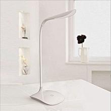 1PCS 5W Dc6v Usb Rechargeable Touch Sensor Cool White Led Reading Light Desk Table Lamp - White - Blue