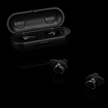 Hiamok_Mini Twins In-Ear Wireless Fitness Earbuds Headphones Stereo Headset BK