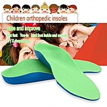 Orthotic Flat Feet Foot Arch Support Cushion Shoe Inserts Insoles Pads For Kids (23cm)