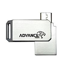 16GB (OTG Mobile USB)-  - Silver