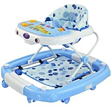 2 in 1 Baby Walker/Rocker-light blue.