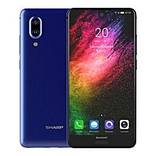 SHARP AQUOS S2 5.5 Inch Dual Rear Camera 4GB RAM 64GB ROM Snapdragon 630 Octa Core 4G Smartphone Blue