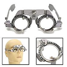 PD 54-70mm Optical Titanium Optic Trial Eye Optometry Lens Frame Text Optician