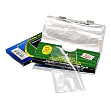 Transparent Slow Burning Cigarette Rolling Paper,King Size 110 * 44mm (5 pack)
