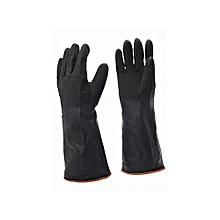Industrial rubber gloves from sun 1 pair Heavy duty