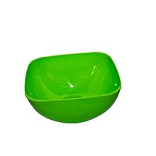Large Square Salad Bowl - Green