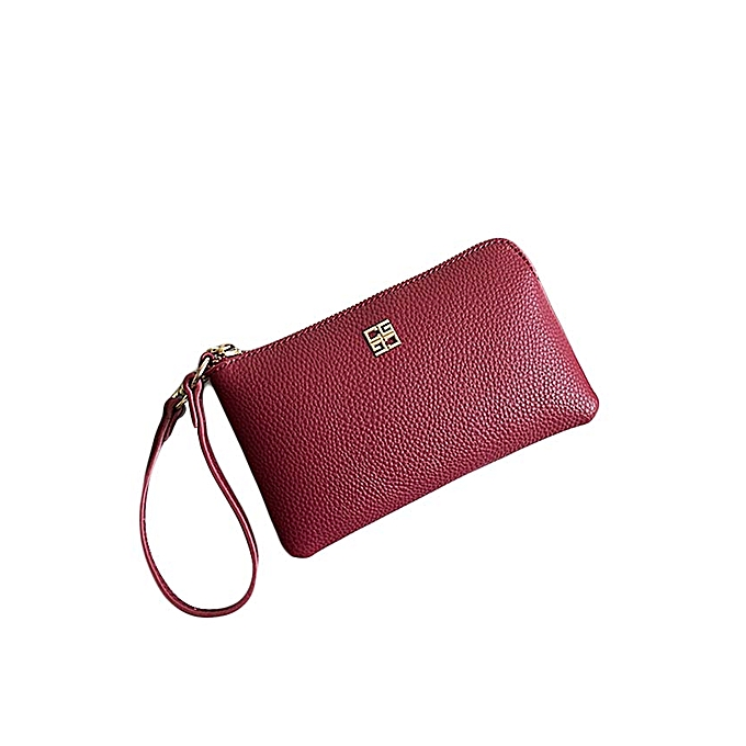 Hand Bag Woman New Long Wallet Litchi Pattern Mobile Phone Bag Autumn and  Winter Fashion Envelope Small Bag