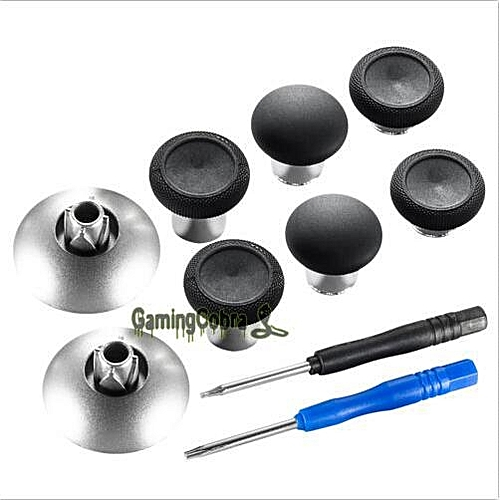 Replacements Magnetic Thumbsticks Fit For Xbox One Elite 3 5 mm / PS4  Controller#black