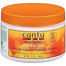 Shea Butter for Natural Hair Leave-In Conditioning Cream 340g