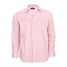 Light Pink Long Sleeved Formal Shirt