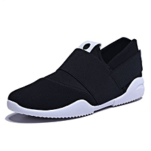 573a871f2c Men Slip-Ons Higher Shoes Men's Casual Shoes Breathable Canvas Sneakers