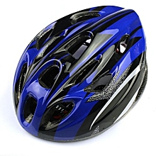 18 Vents Adult Sports Mountain Road Bicycle Bike Cycling Helmet Blue Outdoor